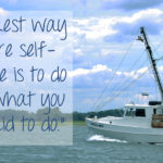 Living on Saltwater - Self Confidence