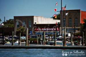 Living on Saltwater Photography - Beaufort Waterfront