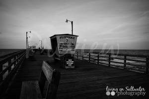 Living on Saltwater Photography - Bogue Inlet Pier