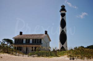 Living on Saltwater Photography - Cape Lookout Lighthouse