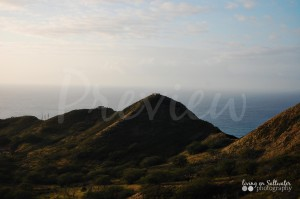 Living on Saltwater Photography - Diamond Head 1