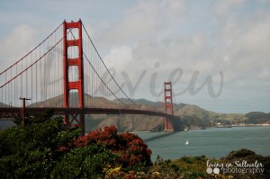 Living on Saltwater Photography - Golden Gate Bridge San Francisco