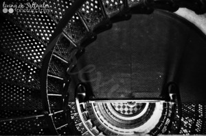 Living on Saltwater Photography - Lighthouse Stairs