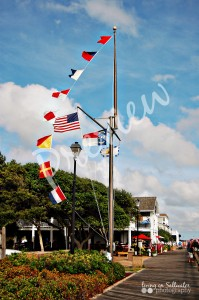 Living on Saltwater Photography - Nautical Flags