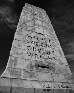 Living on Saltwater Photography - Wright Brothers Memorial
