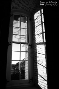 Living on Saltwater Photography -Lighthouse Window